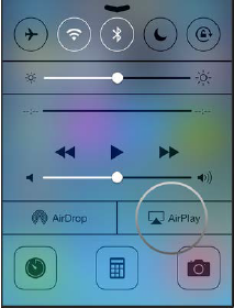 Airplay on iOS