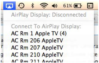 AppleTV Connections