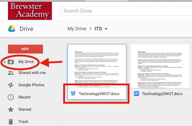 how to see howmuch words on a doc google docs