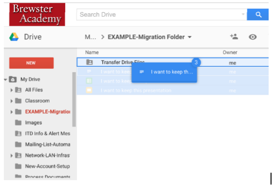 how to change tranfer all acounts to new gmail