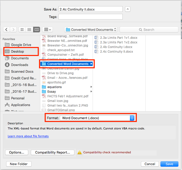 how to convert a google drive doc to pdf