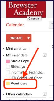 reminders-check-box