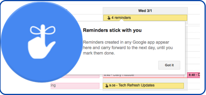 how to create reminder in google calendar